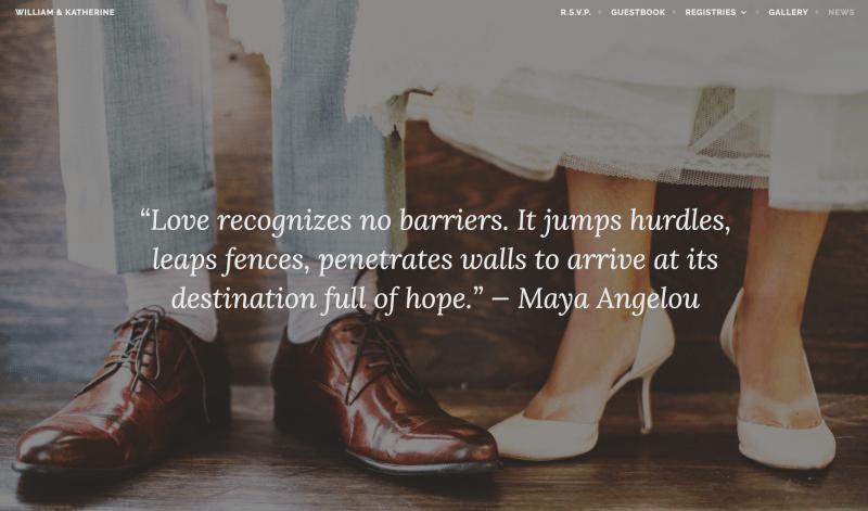 Tema Matrimonio Wordpress : Afifnity tema wordpress para bodas chriss benitez