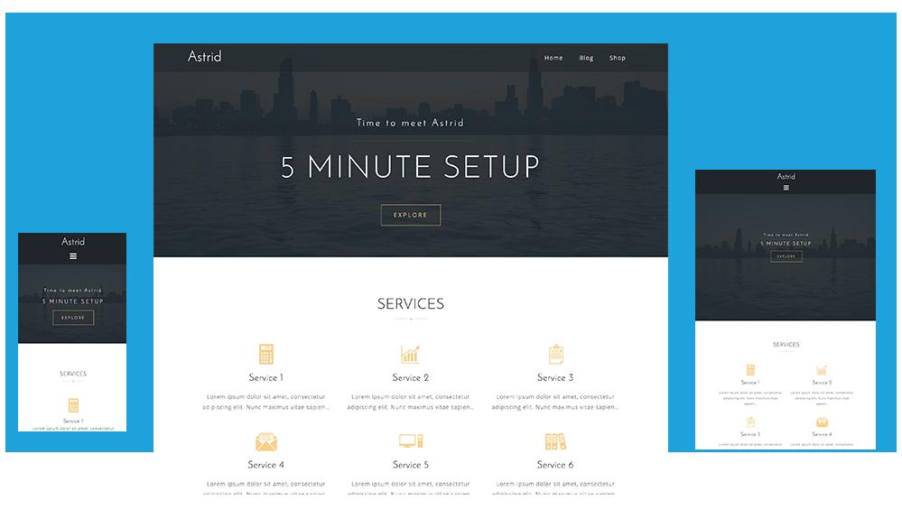 Astrid - Tema Premium Wordpress Gratis - Chriss Benitez